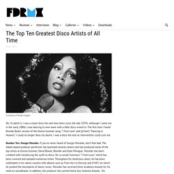 The Top Ten Greatest Disco Artists of All Time