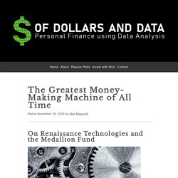 The Greatest Money-Making Machine of All Time