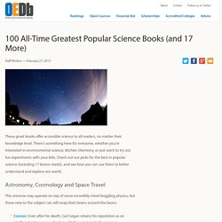100 All-Time Greatest Popular Science Books (and 17 More)