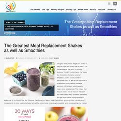 Best Meal Replacement Shakes Review