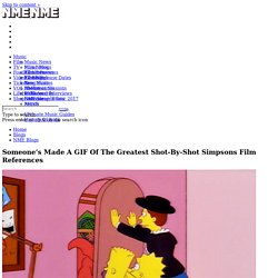 Someone's Made A GIF Of The Greatest Simpsons Film References
