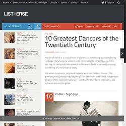 10 Greatest Dancers of the Twentieth Century