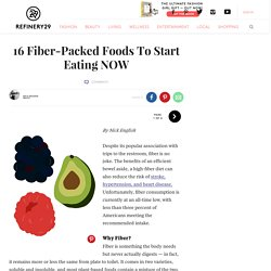 Greatist - Surprising High Fiber Foods