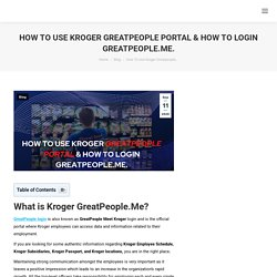 How To Login Greatpeople.Me - Guide
