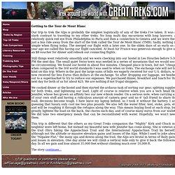 Tour de Mont Blanc - France - Italy - Switzerland (Page 1 of 12)