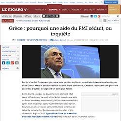 Grèce : pourquoi une aide du FMI sédui