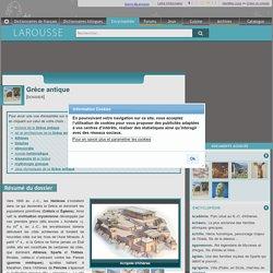 Grèce antique : histoire, architecture, jeux olympiques...