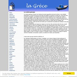 Grèce, cuisine grecque