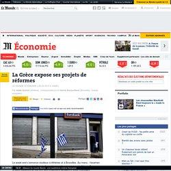 La Grèce expose ses projets de réformes - Le Monde 20/03/15