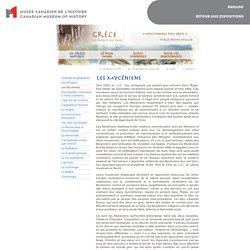 Grèce : Les secrets du passé - Les Mycéniens