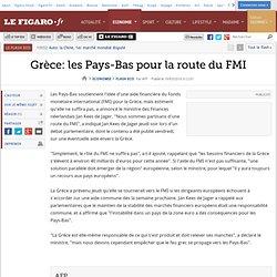 Grèce: les Pays-Bas pour ''la route du F