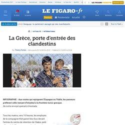 La Grèce, porte d'entrée des clandestins