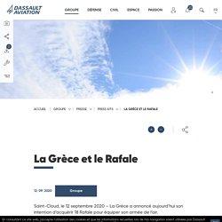 La Grèce et le Rafale - Press kits de Dassault Aviation