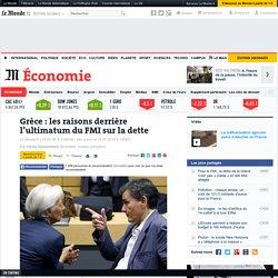 Grèce : les raisons derrière l'ultimatum du FMI sur la dette