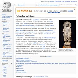 Gréco-bouddhisme