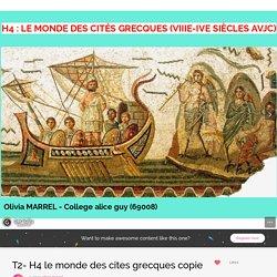 T2- H4 le monde des cites grecques copie by olivia.marrel on Genial.ly