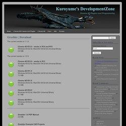 Kuroyume's DevelopmentZone