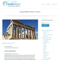 Greece – Best of History Web Sites