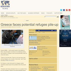Greece faces potential refugee pile-up