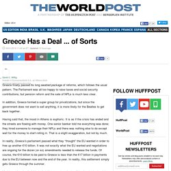 Greece Has a Deal ... of Sorts
