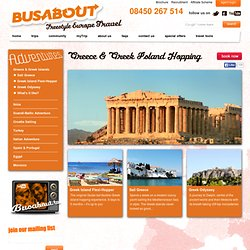 Greece Tours and Greek Island Hopping Trips - Busabout's Europe Tours