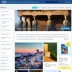 Greece Travel Information and Travel Guide