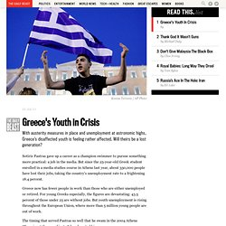 Greece's Youth in Crisis