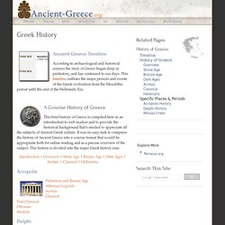 the brief history of the greek society The geographical coverage of ancient greek civilization changed markedly during its history  greek civilization ancient greek society  a brief historical .