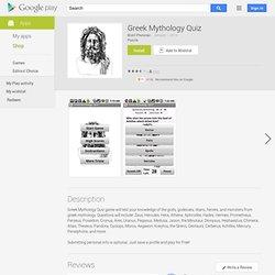 Greek Mythology Quiz - Apps on Android Market