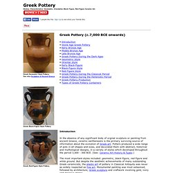 Greek Pottery