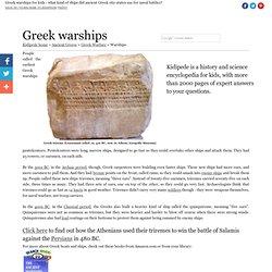 Greek Warships