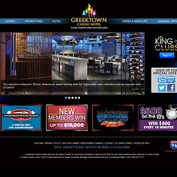 Greektown Casino Hotel | Detroit Casinos, Hotels | Michigan Casinos