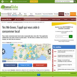 Yes We Green, l'appli qui vous aide à consommer local