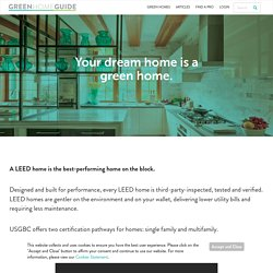 U.S. Green Building Council's Green Home Guide