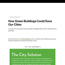 How Green Buildings Could Save Our Cities