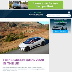 Top 5 Green Cars 2020 in the UK