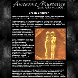 presents: Awesome Mysteries Youve Never Heard Of