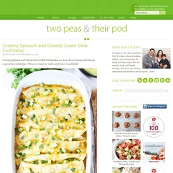 Green Chile Enchilada Recipe