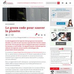 Le green code pour sauver la planète