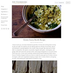 Green Curry Broth Recipe