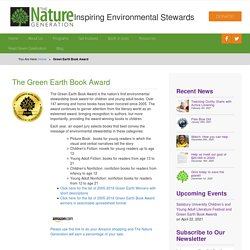Green Earth Book Award - The Nature Generation