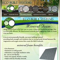 green eco mineral mgo foam non toxic