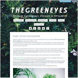 The Green Eyes - Faire l'école buissonière