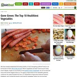 Gone Green: The Top 10 Healthiest Vegetables - Part 6