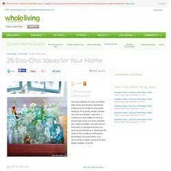 Green Home Guide | Whole Living