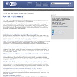 Green IT Sustainability