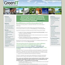 Green IT | Welcome