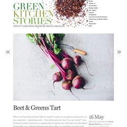 Beet & Greens Tart