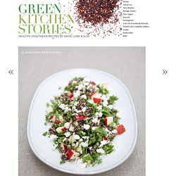 Black Quinoa & Kale Salad