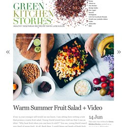 Warm Summer Fruit Salad + Video